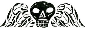 Gary Kelly Skull Illustration