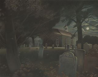 Sleepy Hollow Illustration by Gary Kelley, Page 46 and 47