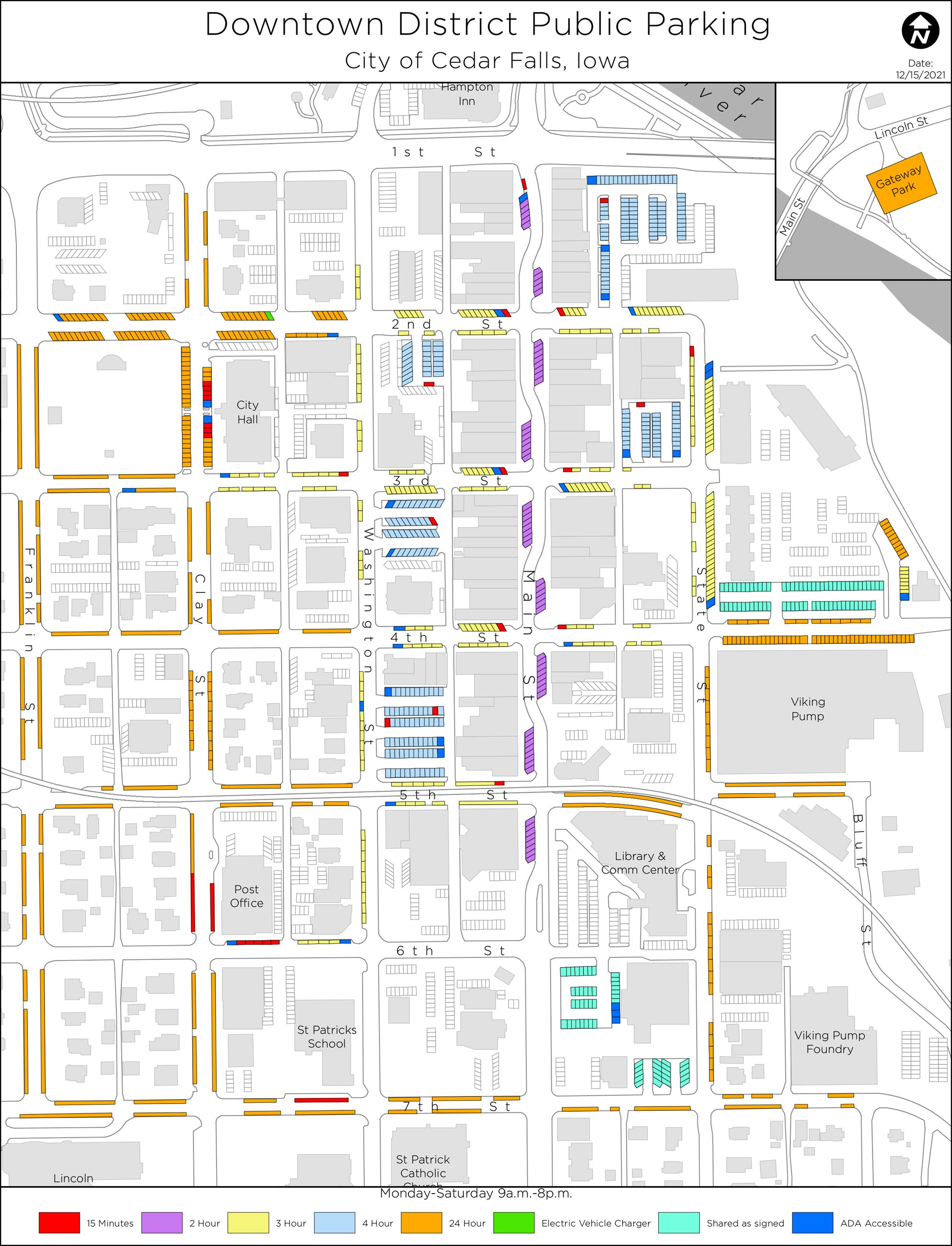 Downtown-Parking-Phase 1 large map