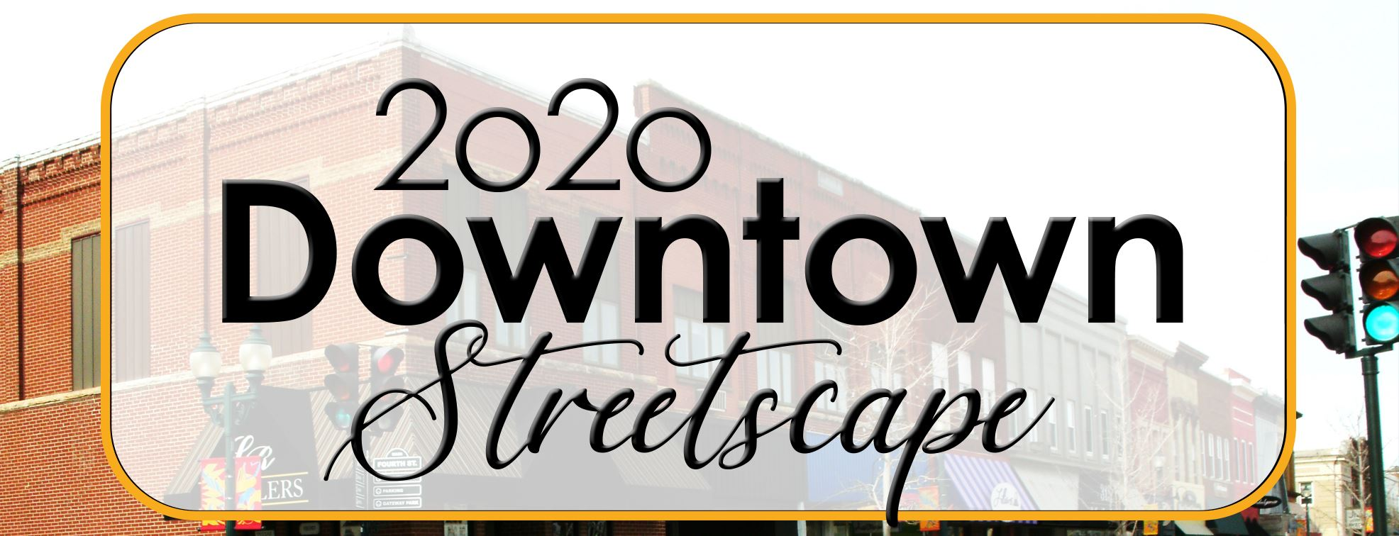 Downtown Streetscape website banner