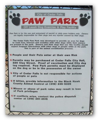 Dog Parks In Cedar Falls Iowa