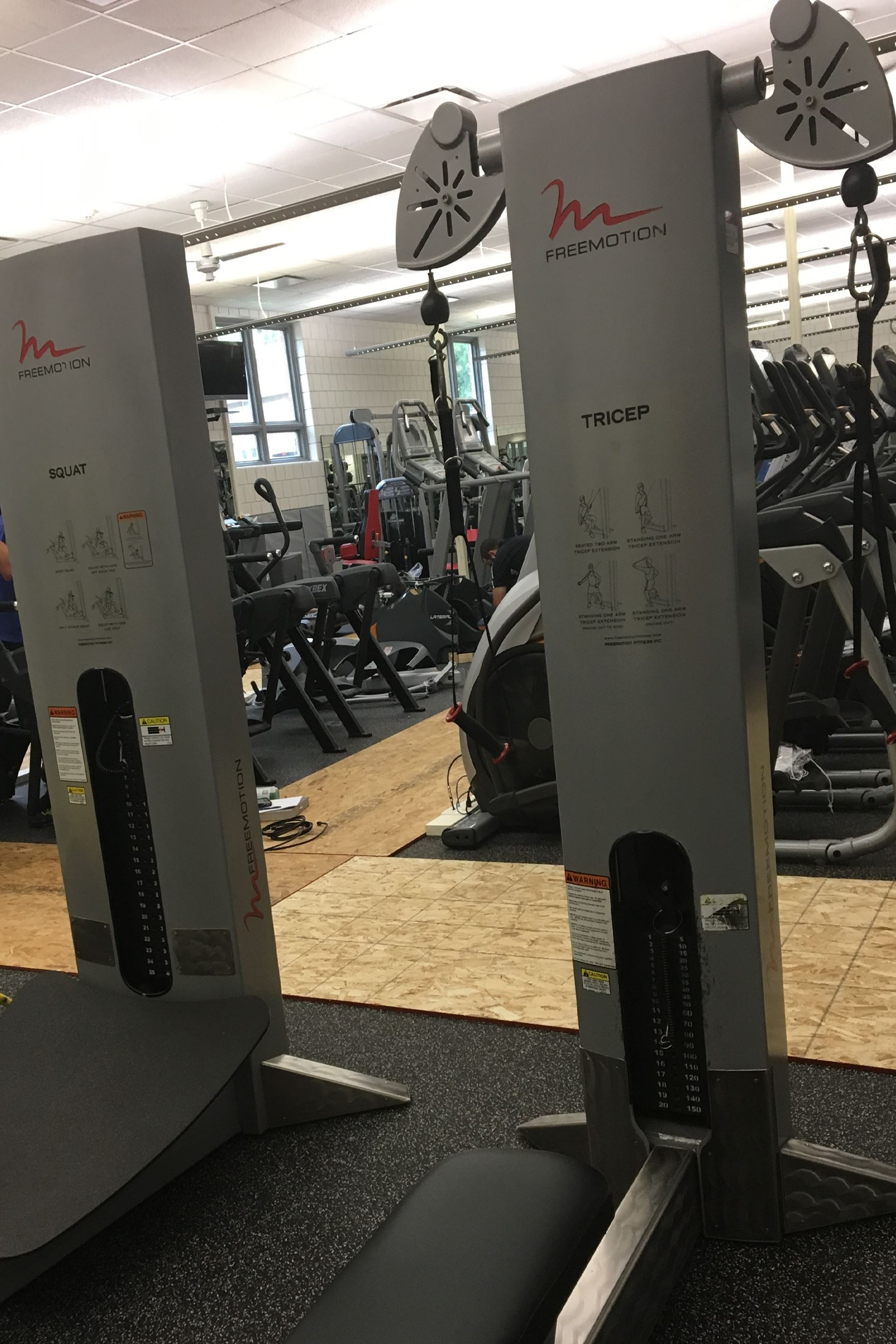 Weight Room Amp Cardio Areas Cedar Falls Ia Official