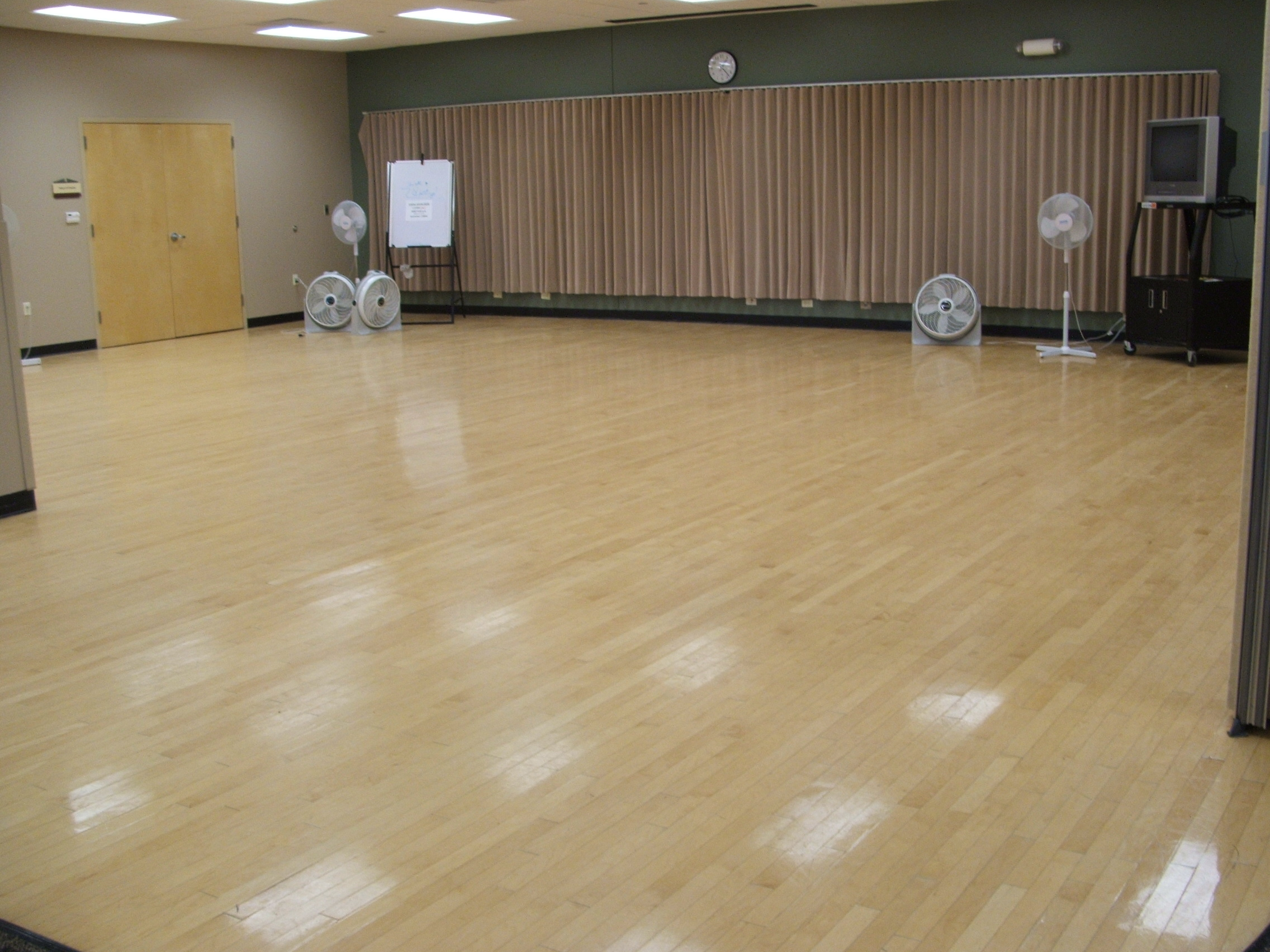 Wooden Floor at Community Center