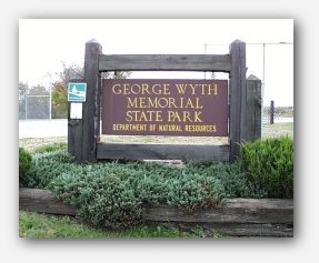 George Wyth State Park Sign