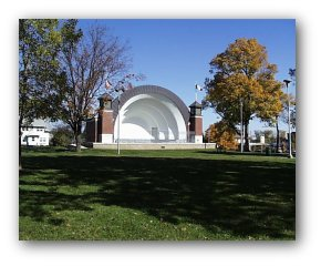 Overman Park Band Shell