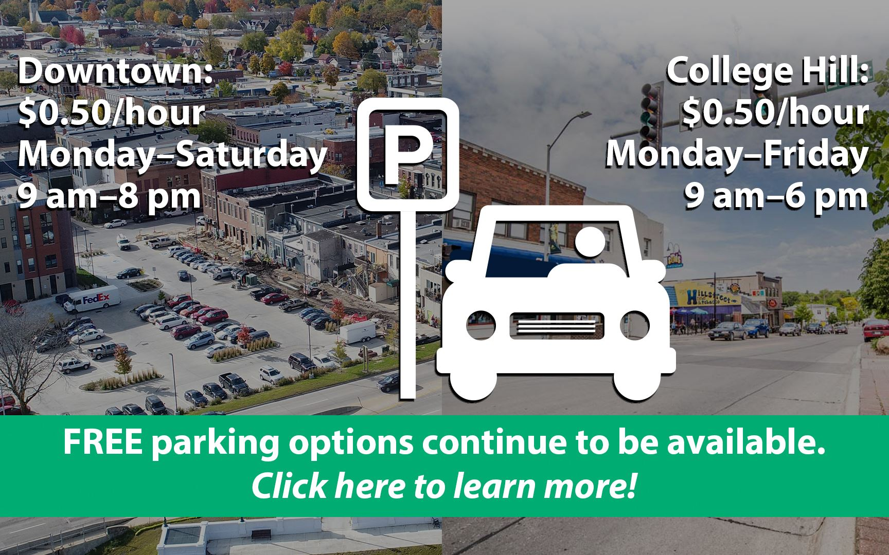 Click to learn about parking changes.